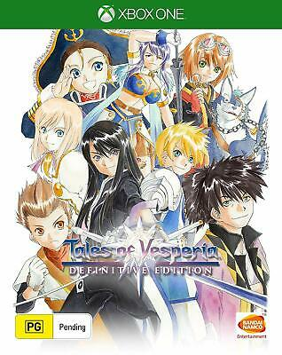 Tales of Vesperia Definitive Edition RPG Combat Strategy Game Microsoft XBOX One