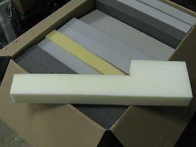 Recycled 2 Inch Thick Foam Pad Strips L Shaped