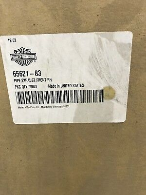 Harley Davidson Road King Electra Glide Front Exhaust Header Pipe 65621-83