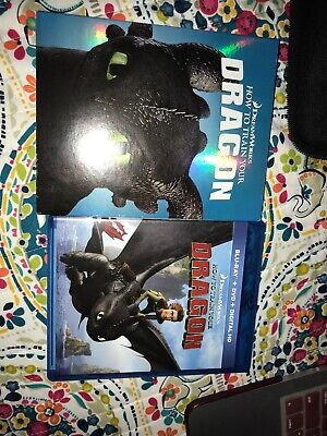 How to Train Your Dragon (Blu-ray/DVD, 2-Disc Set) No DIGITAL HD