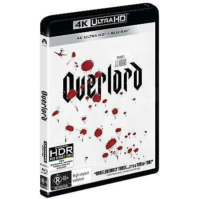 Overlord -Alternative Cover (4K Ultra HD/ Blu-Ray, 2019) (Region B) New Release