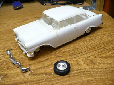 Vintage Revell 1956 Chevy Model Built-parts or repair