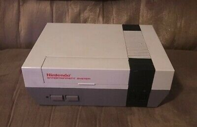 Official Nintendo Nes Console! ~ New 72 Pin Connector! ~ Works Great! ~ LQQK