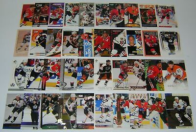 GREAT LOT of 10 JEREMY ROENICK HOCKEY CARDS  includes his ROOKIE CARD!!!