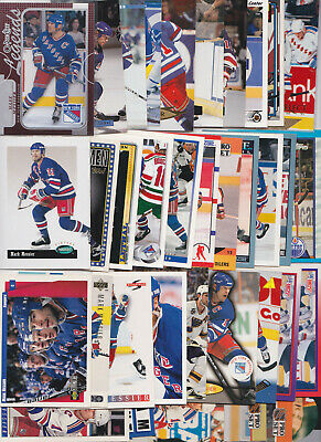 GREAT LOT of 10 MARK MESSIER HOCKEY CARDS