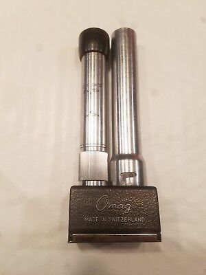 Vintage Rare OMAG pocket Field Microscope  Made in Switzerland (as is—see pics)