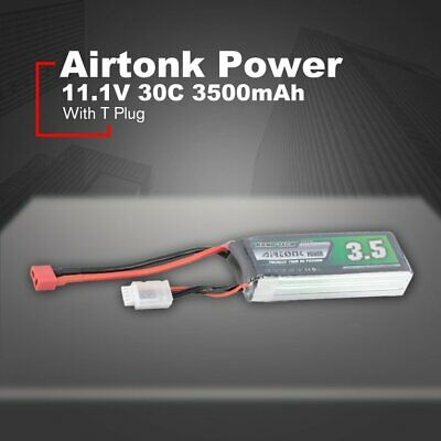 Airtonk Power 11.1V 3500mAh 30C 3s 1P Lipo Battery T Plug for RC Drone Car ❃⚡✤