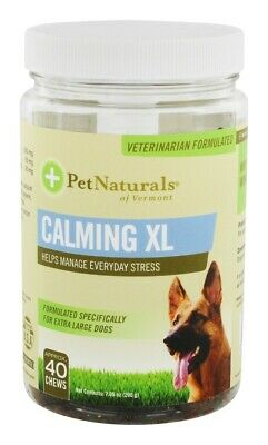 Pet Naturals of Vermont - Calming Chews For XL Dogs - 40 Chew(s)