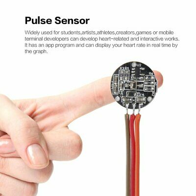 Pulsesensor Heart Rate Beat Pulse Sensor Module for Arduino Raspberry Pi ❃⚡✤