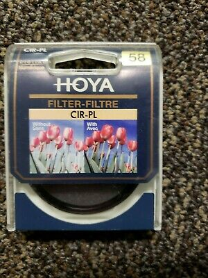 Hoya 58mm Slim CPL CIR-PL Slim Frame Circular Polarizing Digital Filter