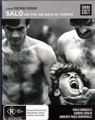 Salo Or The 120 Days Of Sodom - New & Sealed Region 4 Dvd Free Local Post