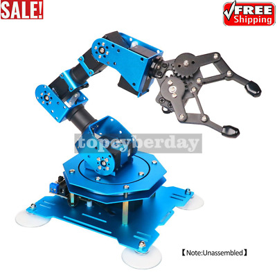 6DOF Robot Arm 6Axis Aluminum Robotic Arm + Servos Standard Version Unassembled
