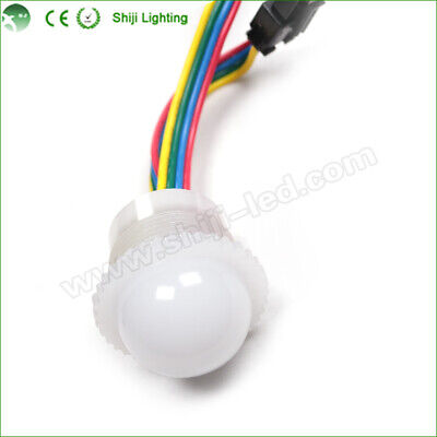 DMX 26mm/19mm LED Pixel DC12V with male & female 4Pin JST connector LED1013