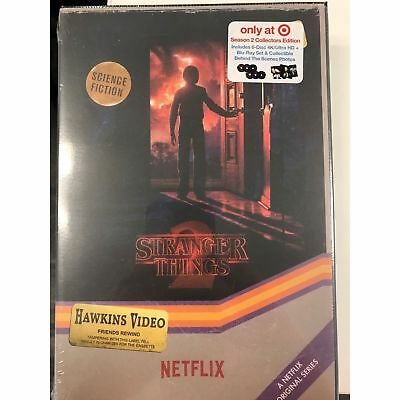New Stranger Things Season 2 4K Ultra Hd Blu Ray Target Exclusive Vhs Packing