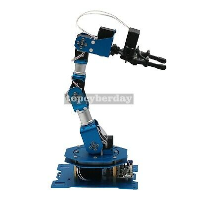 6DOF Robot Arm 6-Axis Aluminum Robotic Arm with Servos Standard Version Finished