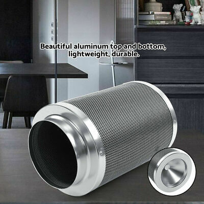 """8"""" Air Carbon Charcoal Filter for Odor Control Exhaust Inline Fan US STOCK OY"""