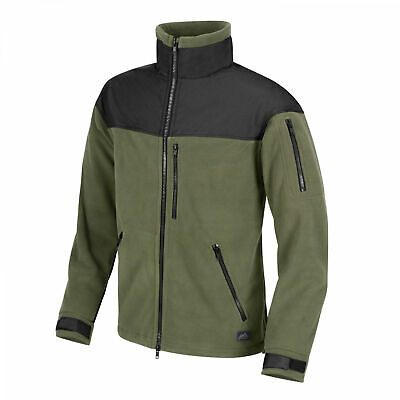 Helikon-Tex Classic Army -Fleece- Vlies-Jacke Outdoor Militär - Oliv/Schwarz