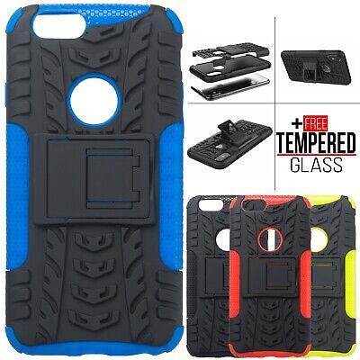 For iPhone 6S 7 8 XR XS MAX Armor Shockproof Hard Heavy Duty Stand Case Cover