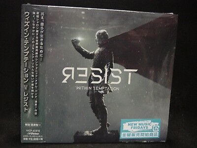WITHIN TEMPTATION Resist JAPAN CD The Circle Papa Roach In Flames Voyage Arid