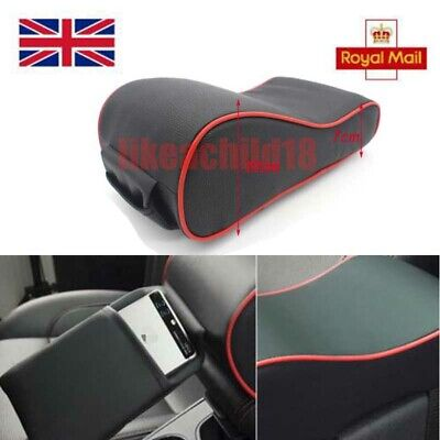 Universal Auto Car Armrest Box Mats PU Leather Console Pad Memory Foam Cushion