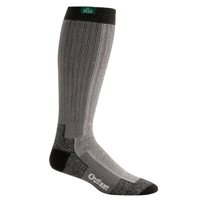 Muck Authentic Heavy-Weight Rubber Boot Grey Socks P0485-072-Lg