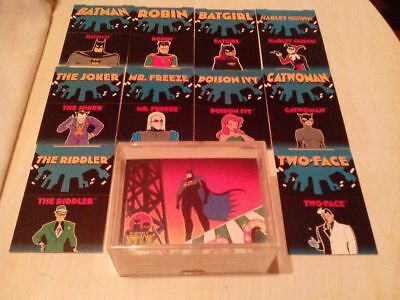 Batman & Robin - Complete Set of 90 + 12 Pop-up Trading Cards By Skybox 1995
