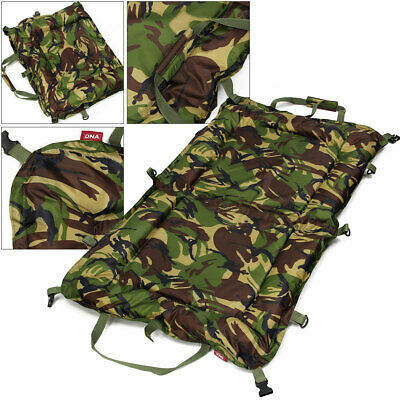 Camo DPM Folding 110 x 70 Unhooking Beanie Mat With Kneeling Pad Carp Fishing