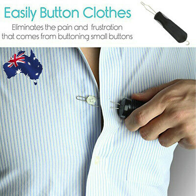 Vive Button Hook Zipper Pull Helper Dressing Aid Assist Device Tool For Arthriti