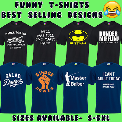 aeb7dcd2 FUNNY MENS T-SHIRTS Joke Novelty Tee Top Rude Gift Idea For Him Dad ...