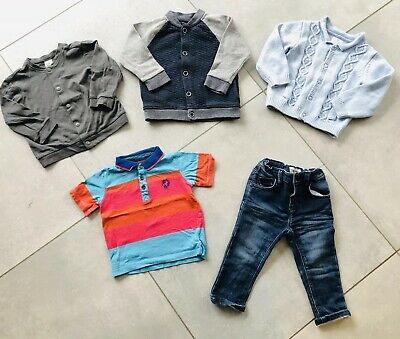 b17f5a192c80cb Bundle Of Baby Boys Clothes 12-18 Months H m Next Ted Baker Cardigan Jeans