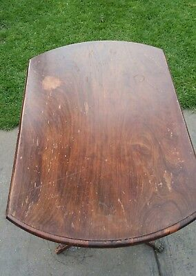 Antique Round Folding Table  (PROJECT )