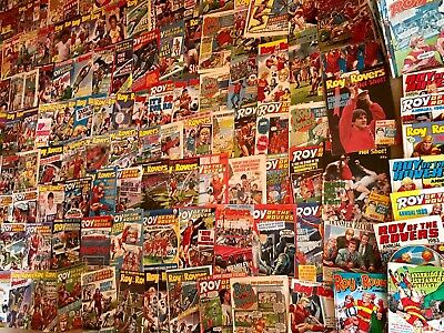 Roy Of The Rovers Comics Roughly 180 + Annuals