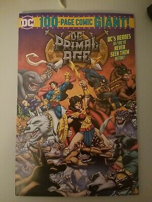 Dc Primal Age 2019 100-Page Comic Giant Target Exclusive Funko New