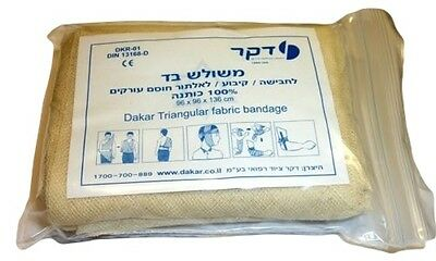 Israeli Triangular Dressing Bandage Medic Trauma Emergency IFAK EMT Compression
