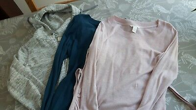 Maternity Jumpers And Hoodie Bundle size L H&M Mama