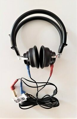 Headphones  For Audiometer With Tdh   And Cables