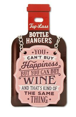 H&H Top  Lass Personalised  Bottle Hangers Name/Relations/blank