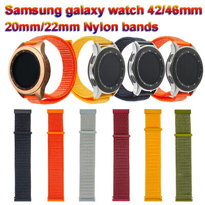 nylon - armband loop 22mm 20mm For Samsung Galaxy Gear S3 Garmin vivoactive 3