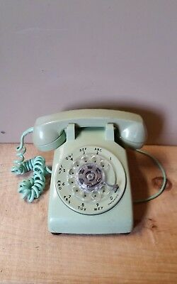 old vintage bell western electric rotary phone