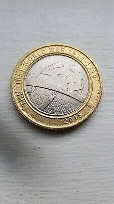 The Army - FIRST WORLD WAR WWI  1914 -1918 - 2016 UK £2 / Two Pound Coin