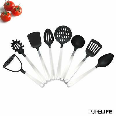 Kitchen Cooking Utensil Set Nonstick Silicone Spatulas for Pans Kitchen Tool 8pc