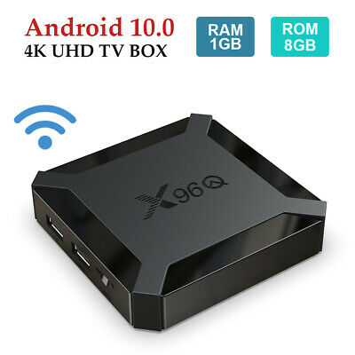 Q plus 6K 4+32G Android 9.0 Smart TV Box Quad Core WIFI HDMI MINI PC 3D Movies
