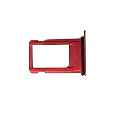 Nano Sim Card Tray Holder Replacement for iPhone 8 / 8 Plus Red