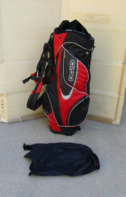 BELDING SPORTS BALANCE Max Black   Red 4-Way Dual Strap Carry Stand ... 823b54dc50c12