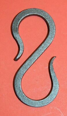 Wrought Iron Square S Hook Hanger Chain Link By Blacksmiths