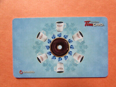 Tim Hortons Gift Card $0.00 on card 2012 FD 32299