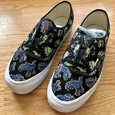 b06669add549 Vans Barney s OG Authentic LX Vanosaur Black NASA Yacht Club Fear of God