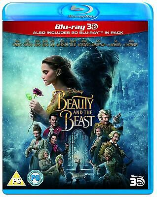 Beauty and the Beast 3D (Blu-ray 3D+2D) Emma Watson Version - Live Action