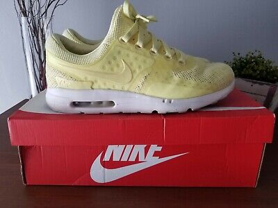 new product e7add 31d3d NIKE AIR MAX Zero BR LEMON CHIFFON LEMONADE BREEZE sz 12