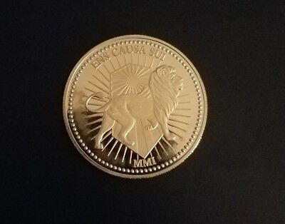 John Wick Continental Hotel Gold Coin Replica!Movie Accurate!! Highest Quality!